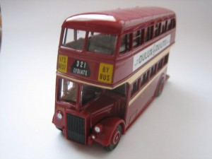 A blast from the past a former Ribble Lydiate bound 321 bus in model form
