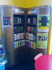Shelving with style at Litherland library