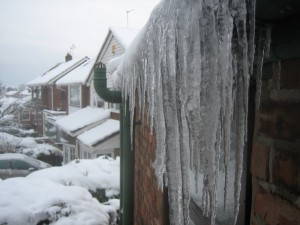Maghull - Icicles December 2010