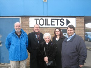 The team who fought to keep our public toilets in Sefton
