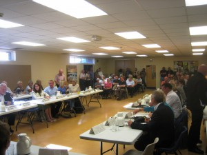 This photo was taken at a meeting of the Sefton Central Area Committee in June 2013. It only shows two thirds of the participants!