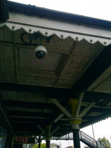 Canopy at Maghull Station