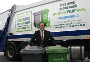 Lib Dem Cllr. Simon Shaw who exposed Labour-run Sefton Council's Green Bin tax plan