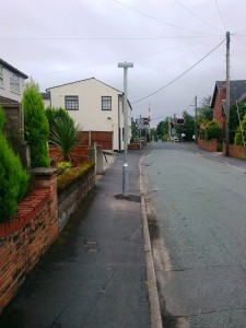 September 2013 - A new pole finally appears!