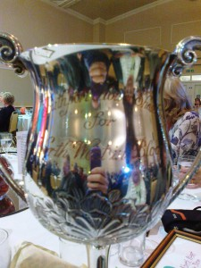 Cup won by Southport in Bloom