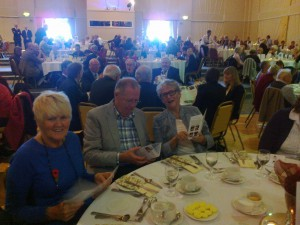 John and Anne Hill of Maghull in Bloom - middle and right in photo.