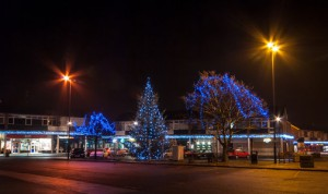 This was Christmas 2009 in Maghull Square