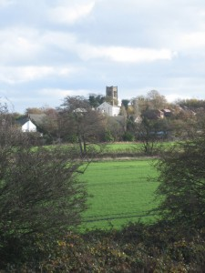 A lovely view of Melling Rock and St. Thomas Church
