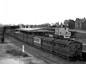 Birkdale Palace Station in the early 1900's
