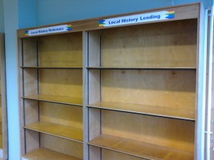 Will volunteers ever be allowed to stack these shelves with books again - Not if Labour-run Sefton has anything to do with it!