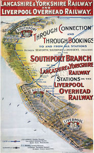 Liverpool - Southort Line Plate