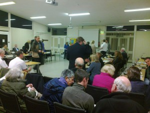 Last night's Sefton Central Area Committee meeting in Formby