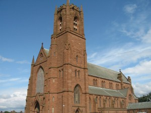 The imposing St James Church that was once described to me as Liverpool's third Cathedral