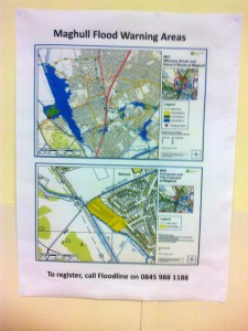 The Maghull area flooding pressure points