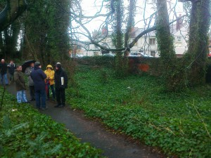 NHS, Maghull in Bloom and project partners meet at The Dell - 31st Jan 2014