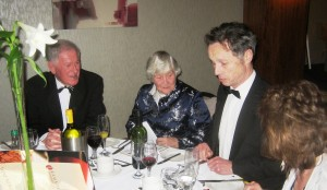 Lord Ronnie Fearn with, Baroness Shirley Williams, John Pugh MP & Annette Pugh