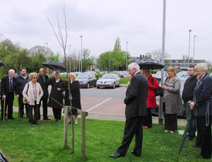 Friends of Barry pay tribute to him