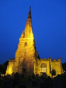 St. Helen's Church, Sefton Village, where the Borough gets its name from.