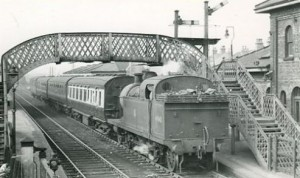 41940 Kirkby in Ashfield Station 1951 P