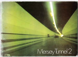 This is the front page of the booklet produced to celebrate  of the opening of Kingsway Tunnel