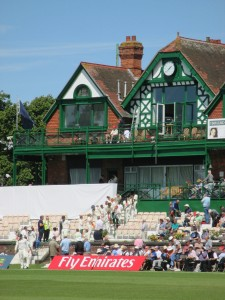 Liverpool Cricket Club's grand pavilion