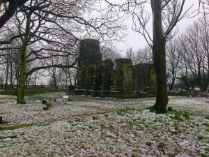Lydiate Abbey - a winter shot