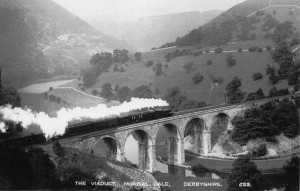 Monsal Head Viaduct then