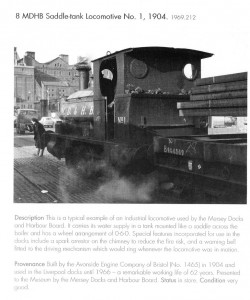 This is a black and white image of the green pug I make reference to above. The image and notes come from a book called Merseyside on Wheels by Loraine Knowles, Michael Stammers & J D Storer published in 1998.