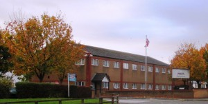 Maghull Police Station in Westway, Maghull.