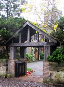 The Lychgate of St Andrew's Church, Maghull