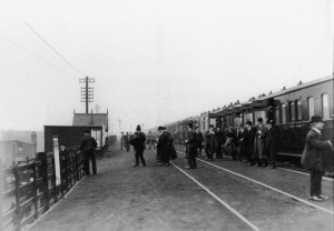 Aintree Racecourse Station - 1912