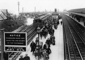 Aintree Sefton Arms Station - April 1913