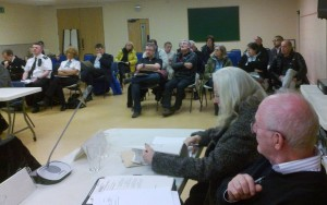 Participants in last Thursday's Sefton Central Area Committee
