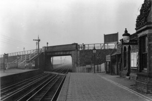 Crossens Station March 1912 - Southport Preston Line