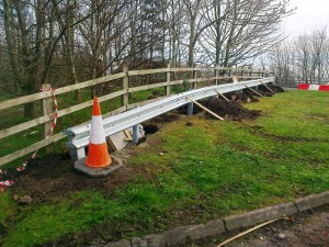 Poverty lane M58 barriers