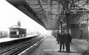 Aintree Station then - Undated