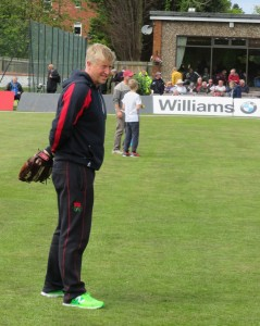 Lancashire's Glen Chappel training the next generation of the Red Rose.
