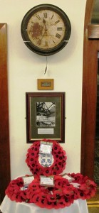 VE Day memorial at Bootle Town Hall