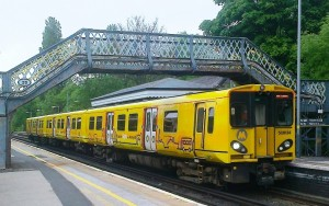 A current Merseyrail Class 508 EMU at Maghull Station