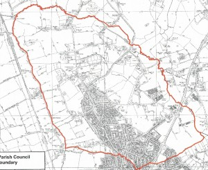 Parish of Lydiate Map