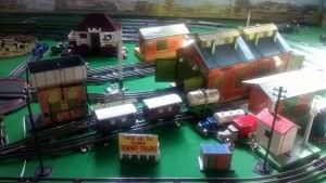 Dave Howel's Hornby O Gauge tin plate layout r