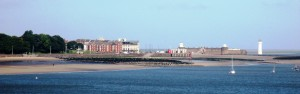 New Brighton and Perch Rock Lighthouse