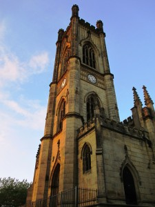 St. Luke's - Liverpool's famous WW2 'bombed-out' church.