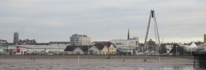 Southport viewed from the end of its pier