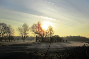 Bootle Golf Course at dawn r