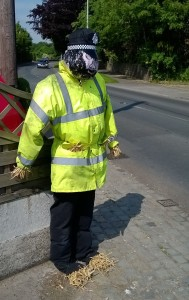 Constable Straw on duty in Halsall