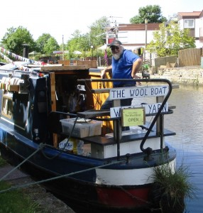 The Wool Boat with Colin the Captain