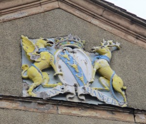 Coat of Arms of Ormskirk's 1779 Town Hall