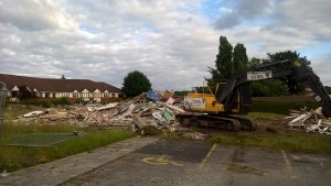 Stafford Moreton Stafford Moreton Youth Centre gone for a Netto store to be built - June 2016