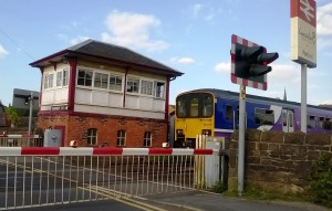 Parbold Level Crossing